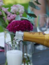 Cristal champagne Photo © Jeroen van Wisse